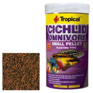 Tropical CICHLID OMNIVORE SMALL PELLET
