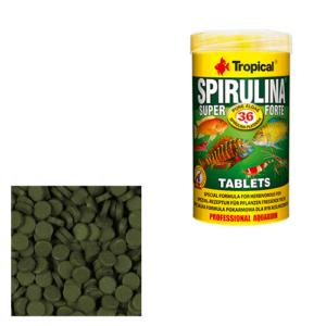 Tropical SUPER SPIRULINA FORTE TABLETS (lepiace)