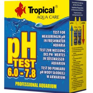 Tropical pH test 6,0-7,8