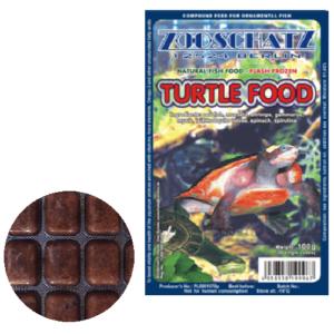 Krmivo pre korytnačky mrazené 100g blister