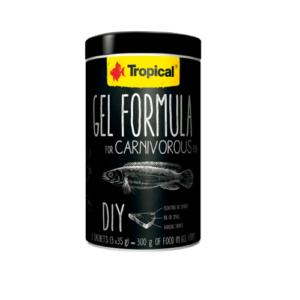Tropical GEL FORMULA FOR CARNIVOROUS FISH