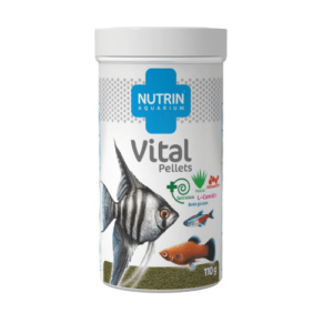 Nutrin Aquarium Vital Pellets 110g/250ml