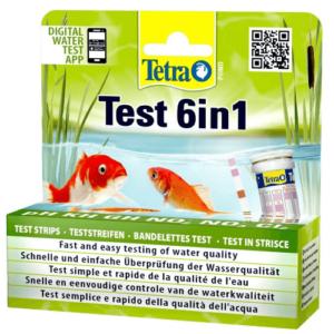 Tetra Pond Test 6 in 1 25 ks