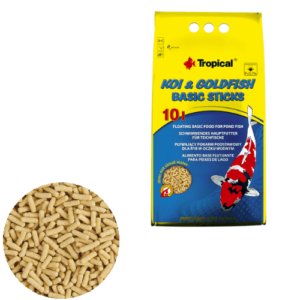 Tropical Koi & Goldfish Basic Sticks 10L/800g