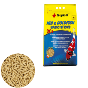 Tropical Koi & Goldfish Basic Sticks 20L/1600g