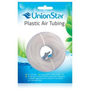 UnionStar vzduchovacia hadička silikónová transparentná 3m